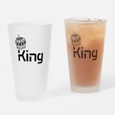 King Drinking Glass