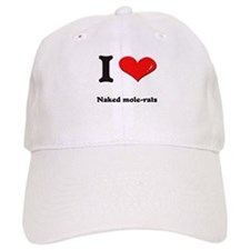 I love naked mole-rats Baseball Cap