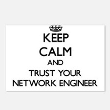 Keep Calm and Trust Your Network Engineer Postcard