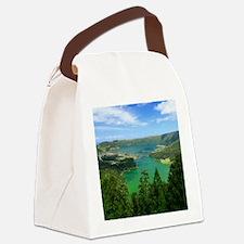 Sete Cidades lakes Canvas Lunch Bag