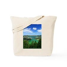 Sete Cidades lakes Tote Bag