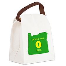 """Oregon """"O"""" Face Canvas Lunch Bag"""