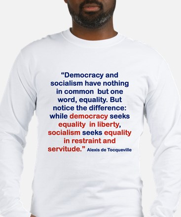 DEMOCRACY AND SOCIALIS BHAVE NOTHING IN COMMON BU