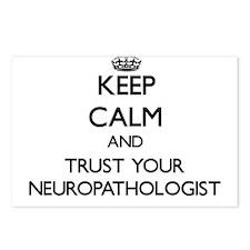 Keep Calm and Trust Your Neuropathologist Postcard