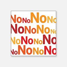 No No No No No Sticker