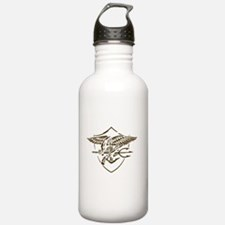 Navy SEAL Insignia Artistic Version Water Bottle