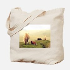 Dartmoor Pony and Foal 2 Tote Bag