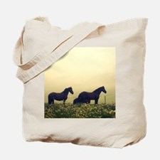 Horse Mist 1 Tote Bag
