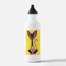 Siamese Geo Water Bottle