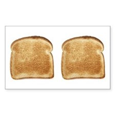 Toast Rectangle Decal