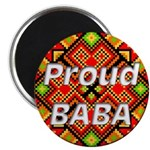 """Proud BABA 2.25"""" Magnet (10 pack)"""