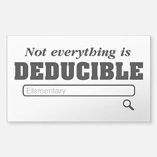 Not Everything Is Deducible Elementary Decal