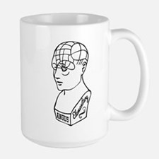 Elementary Angus Head Mugs