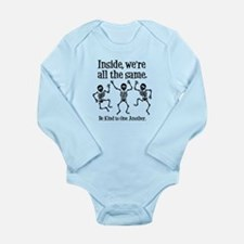 SAME INSIDE Long Sleeve Infant Bodysuit