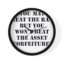Beat the Rap Wall Clock