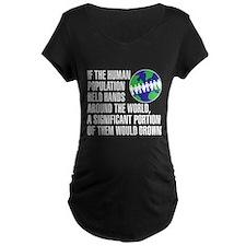 drown Maternity T-Shirt