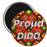 "Proud DIDO 2.25"" Magnet (10 pack)"