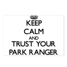 Keep Calm and Trust Your Park Ranger Postcards (Pa