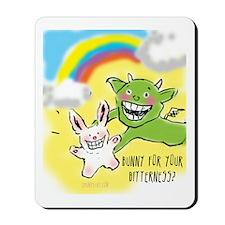 Bitter Bunny Mousepad