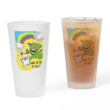 Bitter Bunny Drinking Glass