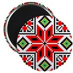 "Folk Design 3 2.25"" Magnet (10 pack)"