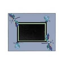 Blue Dragonflies Frame Picture Frame