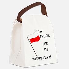Pierogietive Canvas Lunch Bag