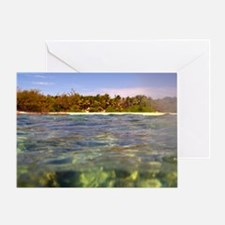 Surface of the sea Greeting Card