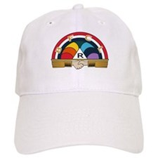 Rainbow Girls Baseball Cap