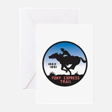 The Pony Express Greeting Cards (Pk of 10)