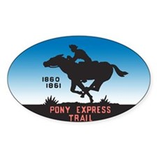 The Pony Express Decal