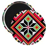 Folk Design 1 Magnet