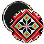 """Folk Design 1 2.25"""" Magnet (10 pack)"""