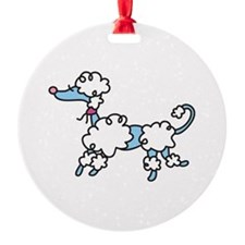 Poodle Ornament