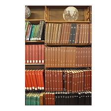 Bookshelves Postcards (Package of 8)
