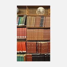 Bookshelves Sticker (Rectangle)