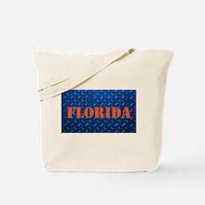 Florida Diamond Plate Tote Bag