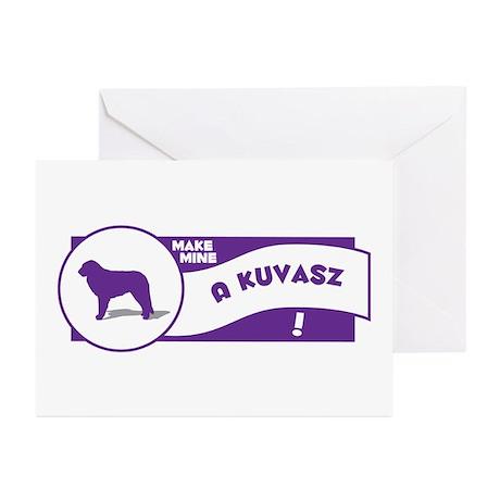 Make Mine Kuvasz Greeting Cards (Pk of 10)