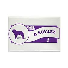 Make Mine Kuvasz Rectangle Magnet (10 pack)