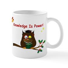 Wise Owl for Christmas Mug