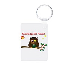 Wise Owl For Christmas Keychainss
