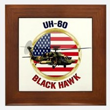 UH-60 Black Hawk Framed Tile