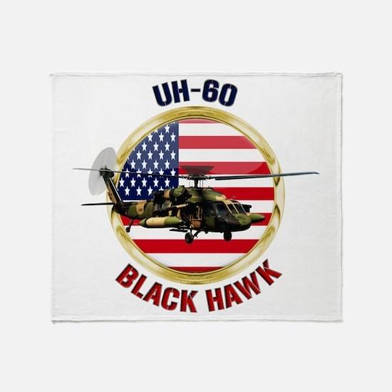 UH-60 Black Hawk Throw Blanket