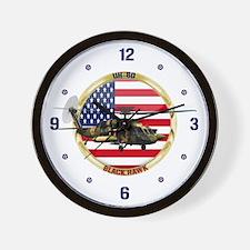 UH-60 Black Hawk Wall Clock