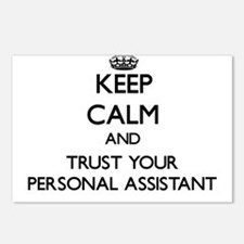 Keep Calm and Trust Your Personal Assistant Postca