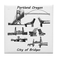 Bridge City Tile Coaster