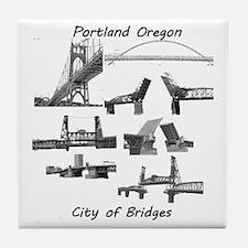 Bridge City Tile Coaster