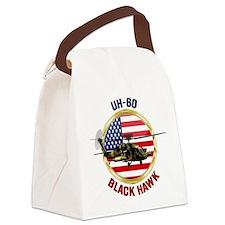 UH-60 Black Hawk Canvas Lunch Bag