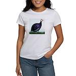 Royal Purple Guineafowl Women's T-Shirt