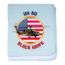UH-60 Black Hawk baby blanket